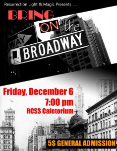 Bring on the Broadway